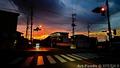 雨上がりの朝焼け_201119