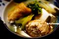 鳥つみれチャンコ鍋野沢菜はんごろしキムチ入り_210224