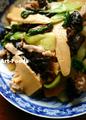 タケノコとチンゲン菜の炒め物_210301
