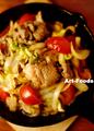 春野菜deジンギスカン_210406