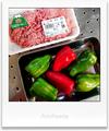 ヨーグル豚ひき肉とピーマン_210409