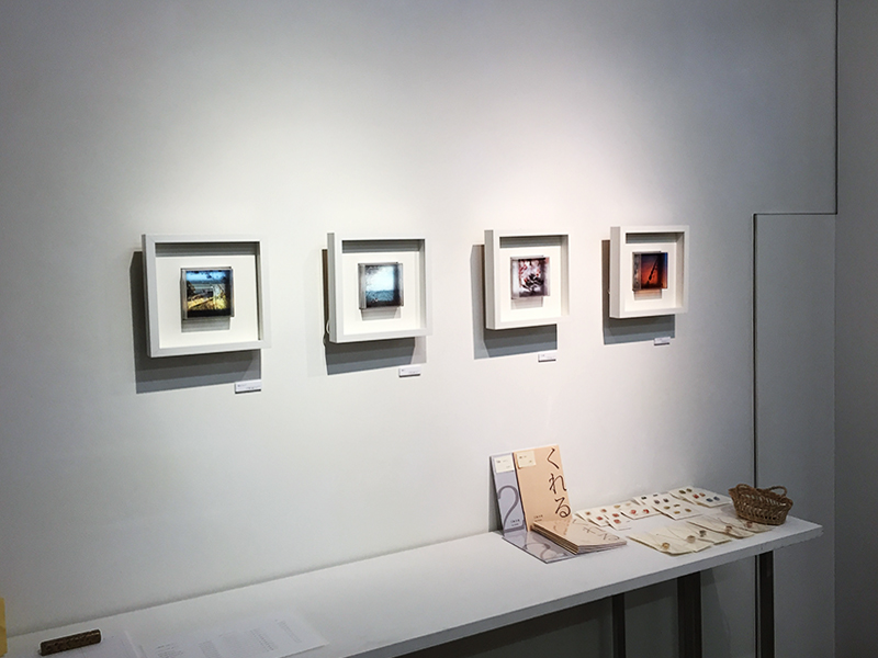 花輪奈穂個展「こもれび こだま 風のいろ」