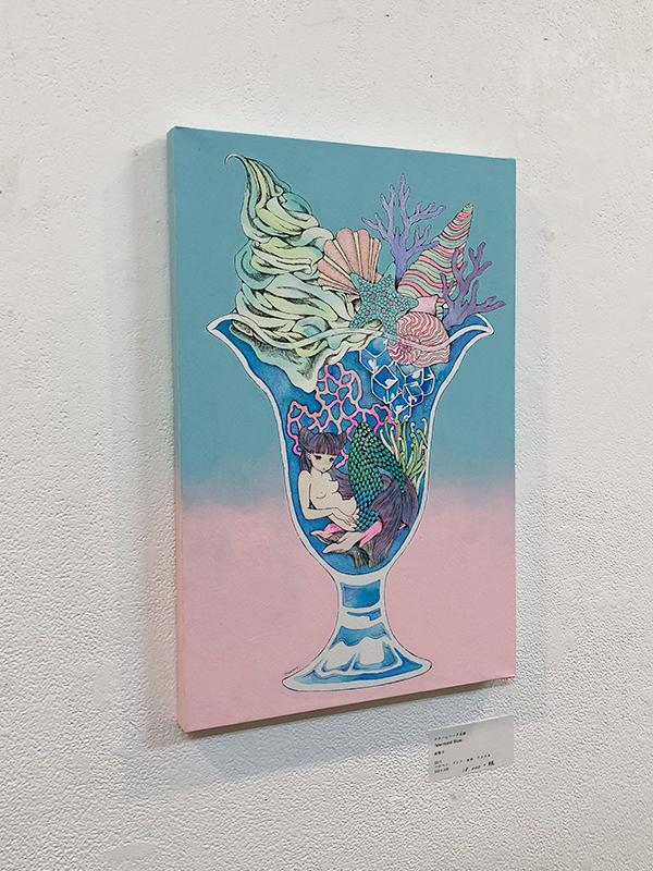 南無子個展「水縹の季節」