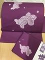 [#artkimonoyayoi]レース編み風金魚❤️の作り帯