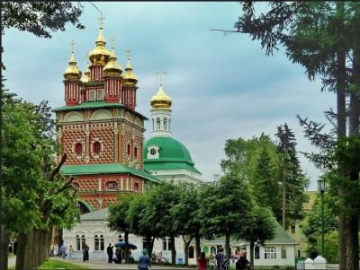 セルギエフ・ポサード。ロシア正教の重要な地のひとつ