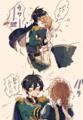 王子と灰かぶりちゃん