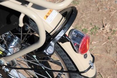 ソーラーテールランプ サークル錠
