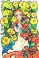 [original][オリジナル][児童姫][ねむり姫]20100221::講談社「花のイラストコンテスト」より