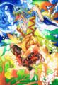 [オリジナル][企画展][妖怪][天狗]20090929::創作合同イラスト展「イタヅラノキッカケ」