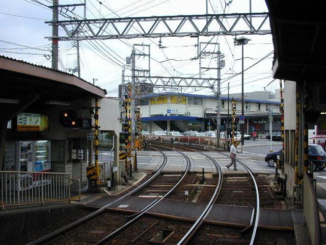 個別「[station][滋賀県]京阪石山駅よりJR石山駅を望む」の写真、画像 - railway - fotolife365n2