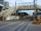 高架線化工事中の鶴ヶ丘駅