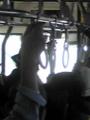 ギター見えるかな?市バス貸し切りでジャズらしい 高槻ジャズストリ
