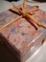 すてきなお花の箱