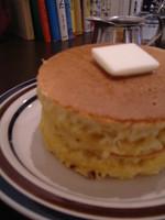 絵本に出てきそうなホットケーキ