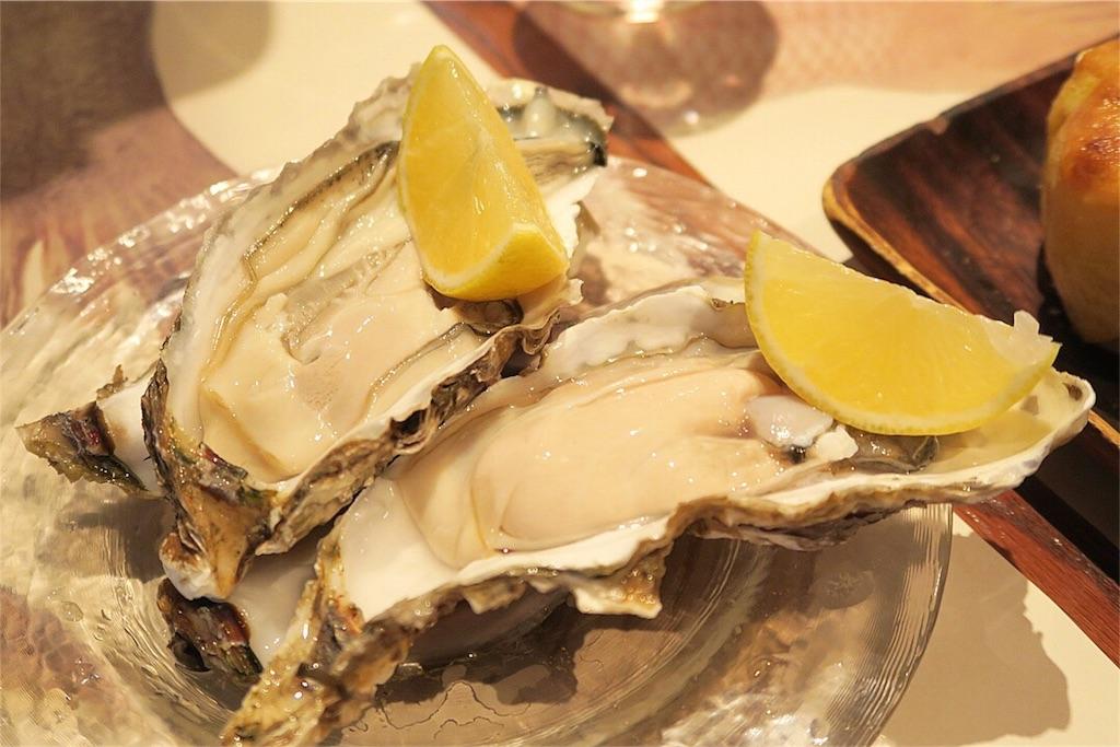 昆布森の生牡蠣