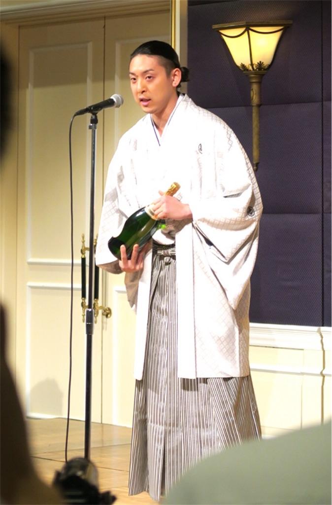 ゴエミヨ授賞式田村浩二シェフ