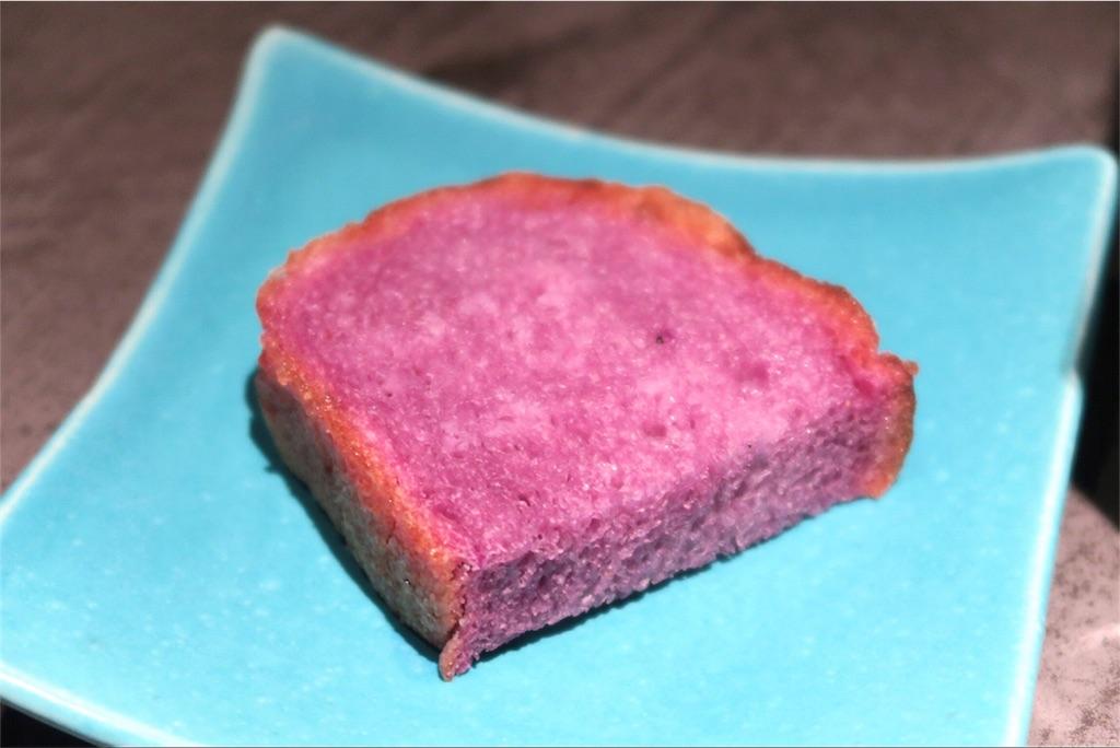 紫芋の自家製フォカッチャ