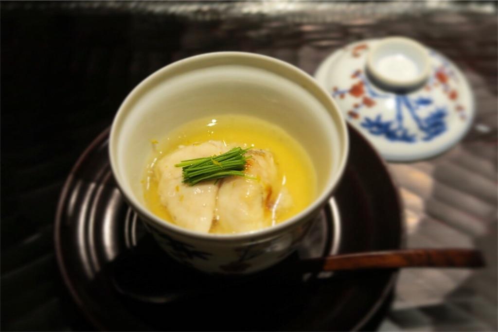美食ソムリエ【焼き白子の茶碗蒸し】