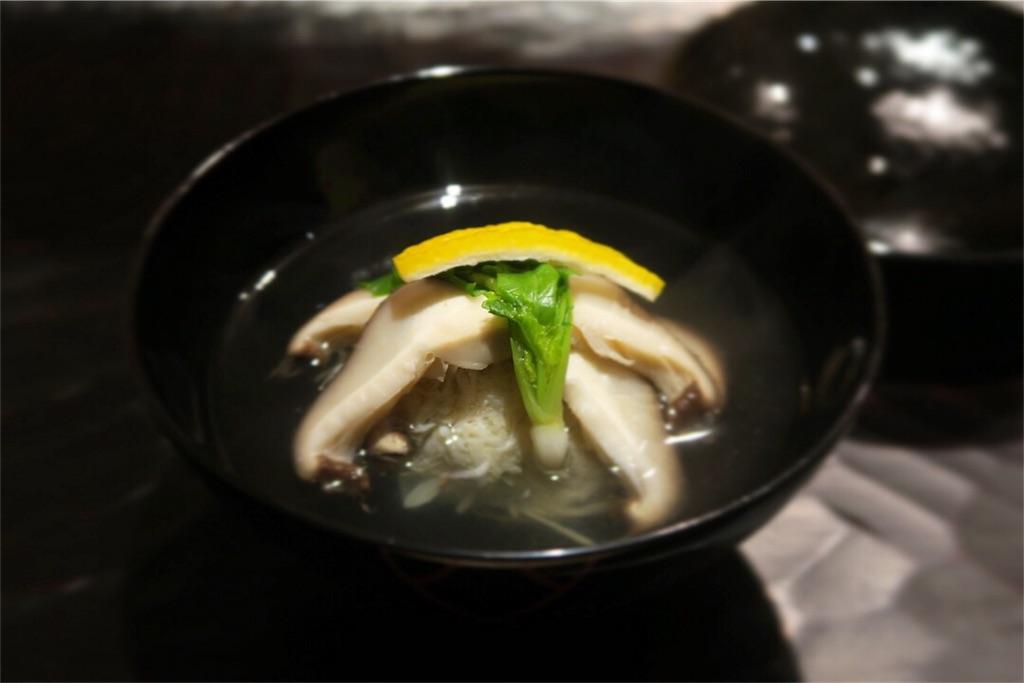 美食ソムリエ「松葉ガニの椀」