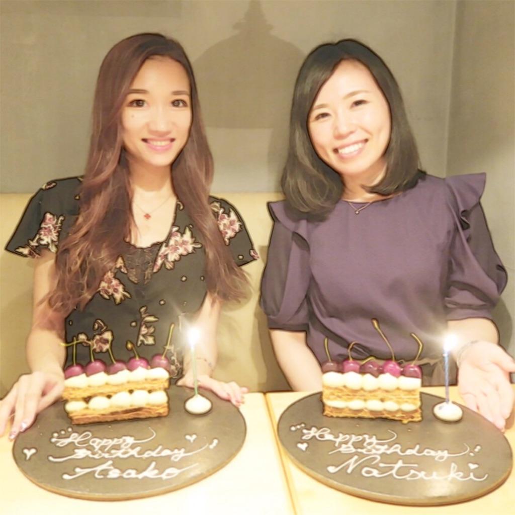 美食ソムリエAsaco誕生日