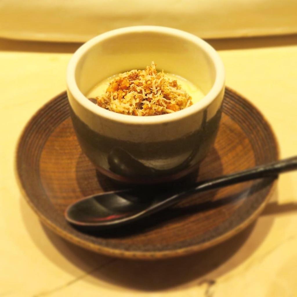 セイコガニの茶碗蒸し