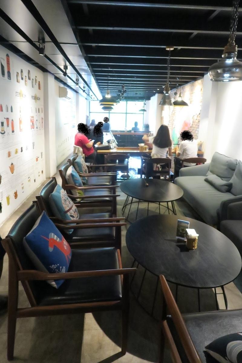 シンカフェ二階