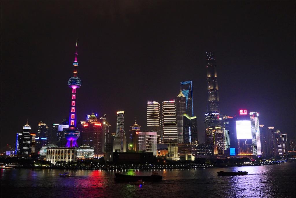 上海の夜景『外灘(バンド)』