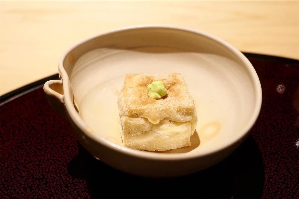 名物「焼きごま豆腐」