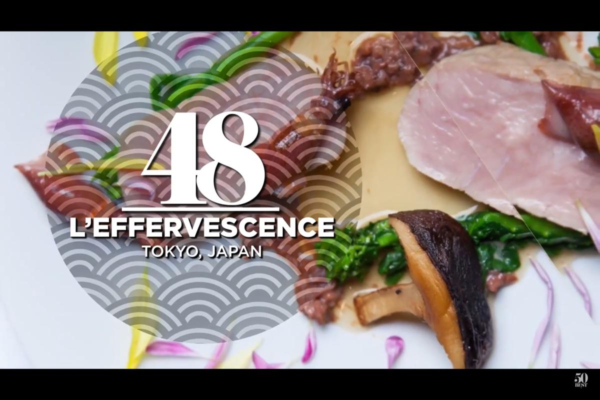 L'Effervescence(レフェルヴェソンス)