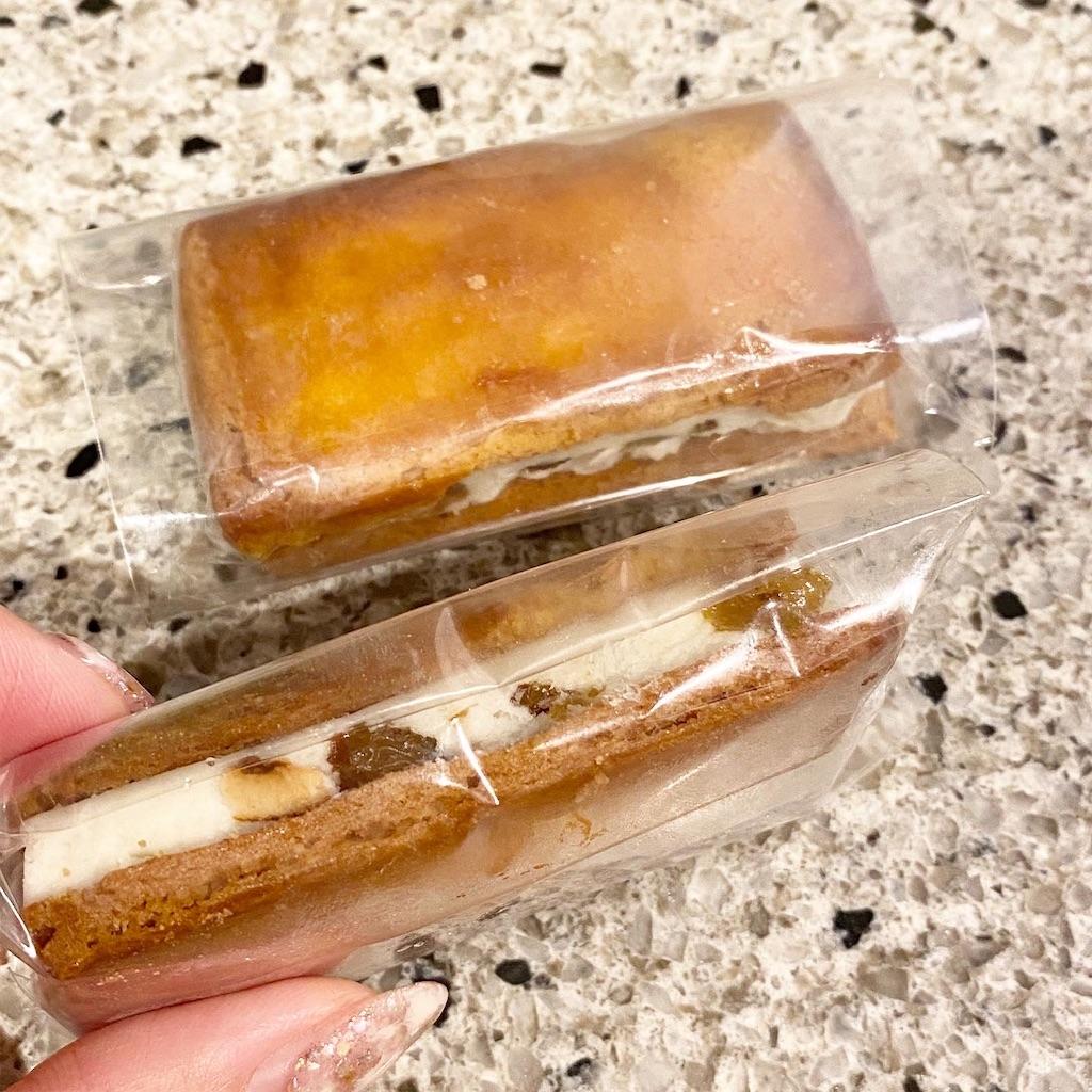 北海道バターのレーズンサンド