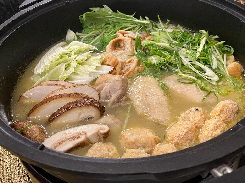 和食 おやまだ 鶏鍋