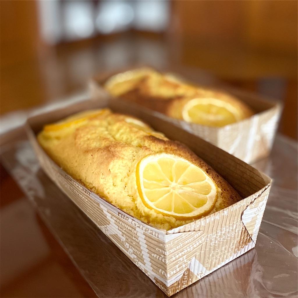 ホットケーキミックスでレモンケーキ
