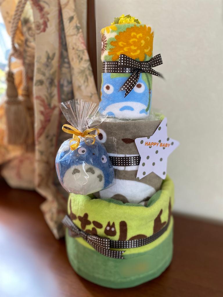 おむつケーキ『となりのトトロ』