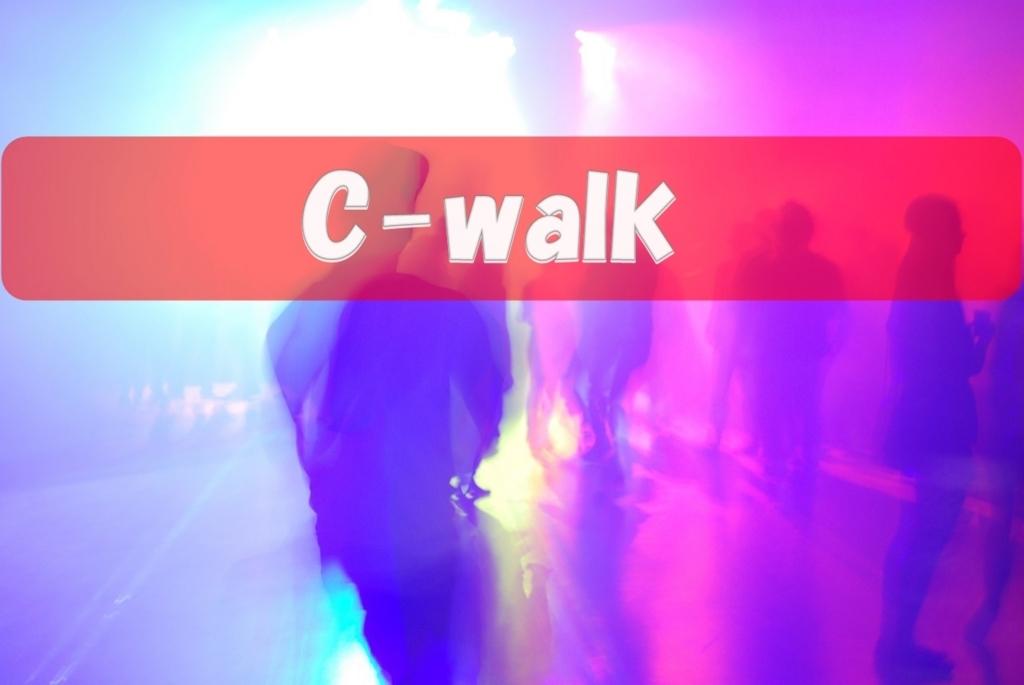 シーウォーク(C-walk)の基礎技解説②!Vステップのやり方も!