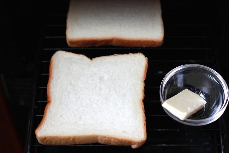 家でサンドイッチ_パン焼き