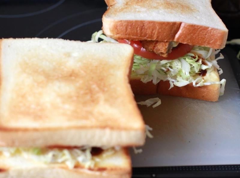 家でサンドイッチ_仕上げ
