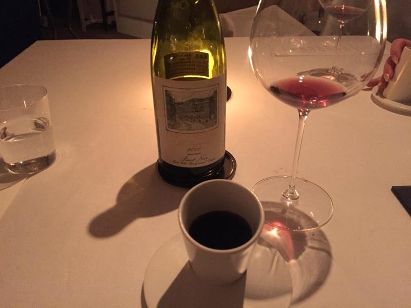西麻布AZURスープとワイン