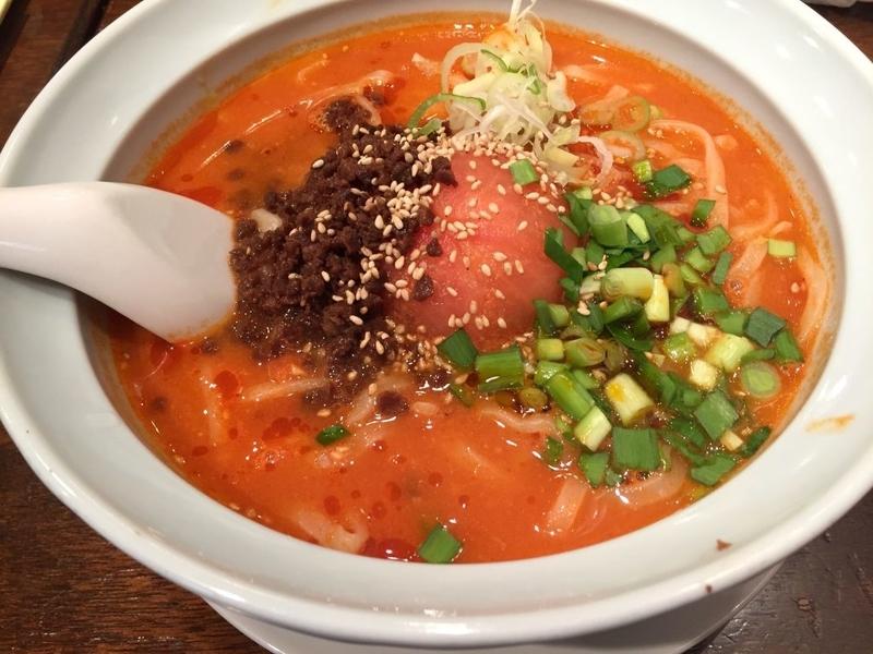 蒼龍唐玉堂 赤トマト担々麺