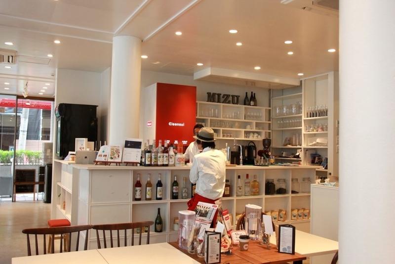 クリンスイMIZU CAFE