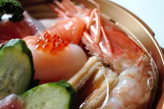 デパ地下惣菜海鮮丼