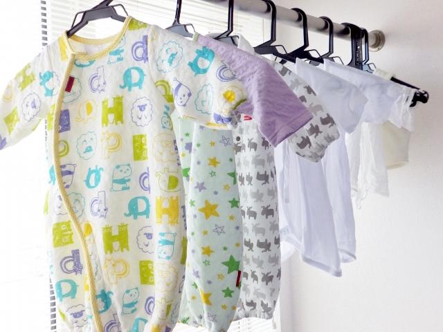 子供服の部屋干し