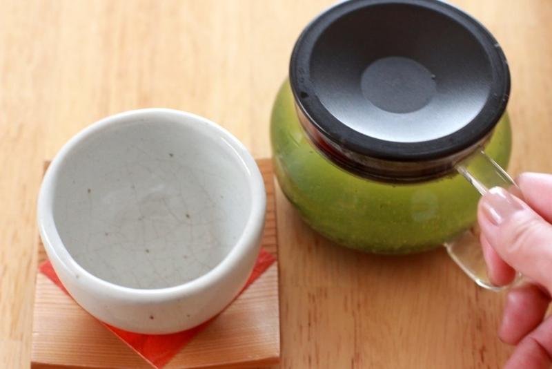 緑茶を入れる