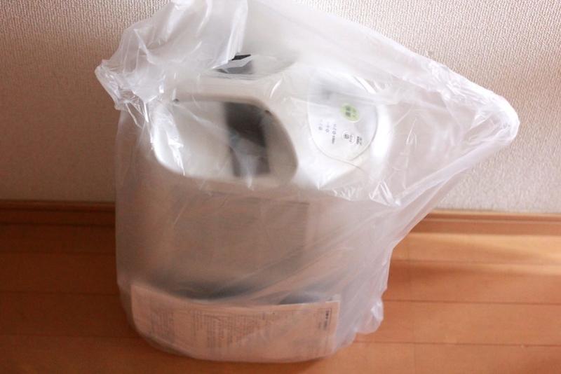 コロナの衣類乾燥機