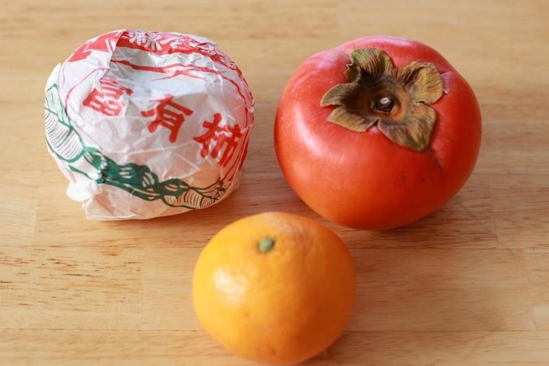 富有柿とみかん