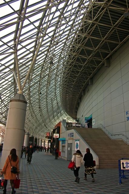 東京ドームの入り口