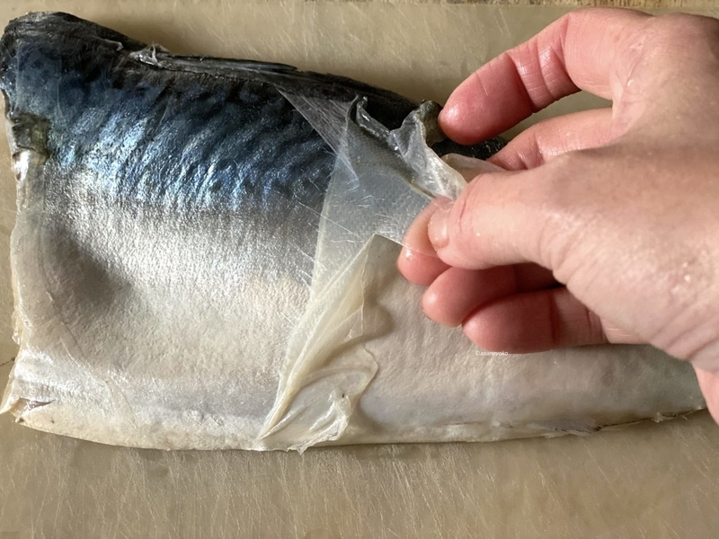 しめ鯖 レシピ