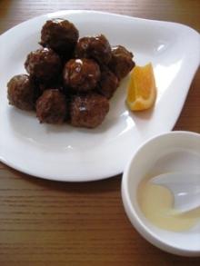 浅野陽子クッキングサロン-肉団子