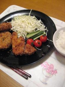 浅野陽子クッキングサロン-フライ定食