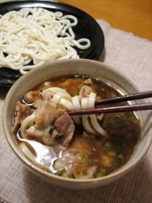 浅野陽子クッキングサロン-肉うどん