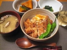 浅野陽子クッキングサロン-かつ煮